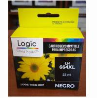 imagen TINTA ALTERNATIVA LHP664XXL NEGRO (22ml) (HP 664N)