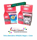 imagen PACK CARTUCHOS ALTERNATIVO HP662 XL (11 ml Negro /  10ml Color) NEGRO + COLOR (HP 662)